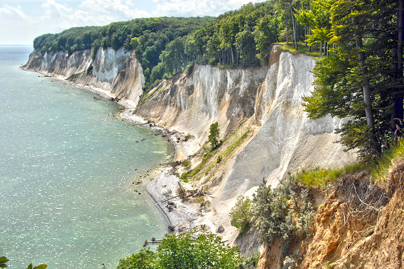 Rügen Cliffs in Germany