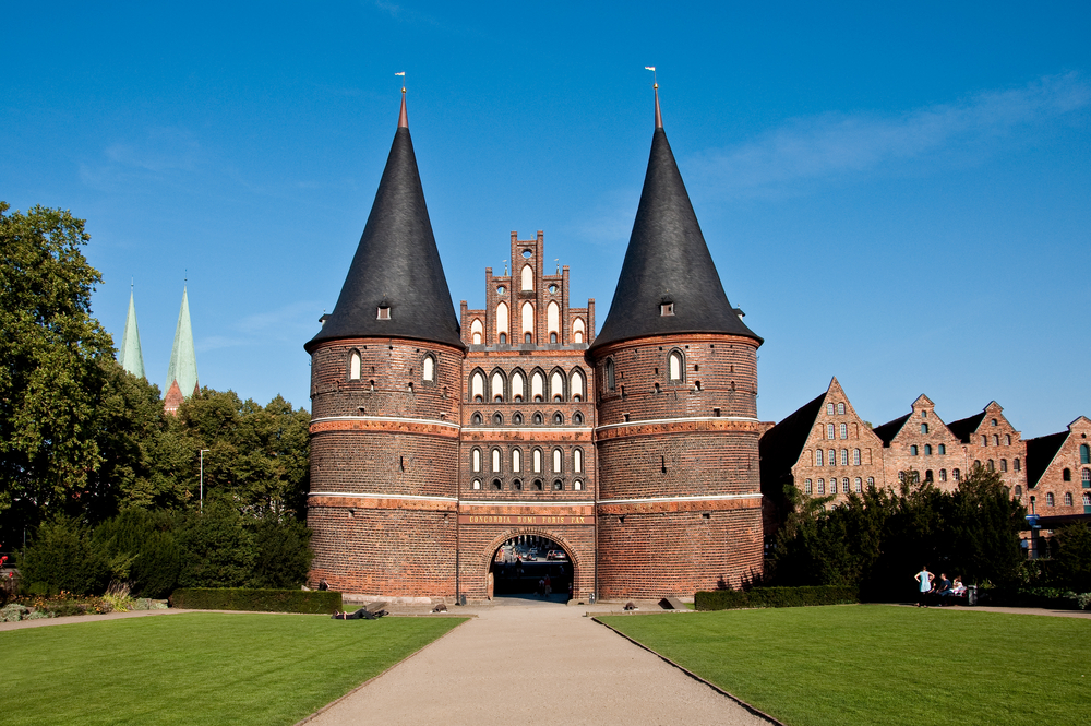 Holstentor in Germany