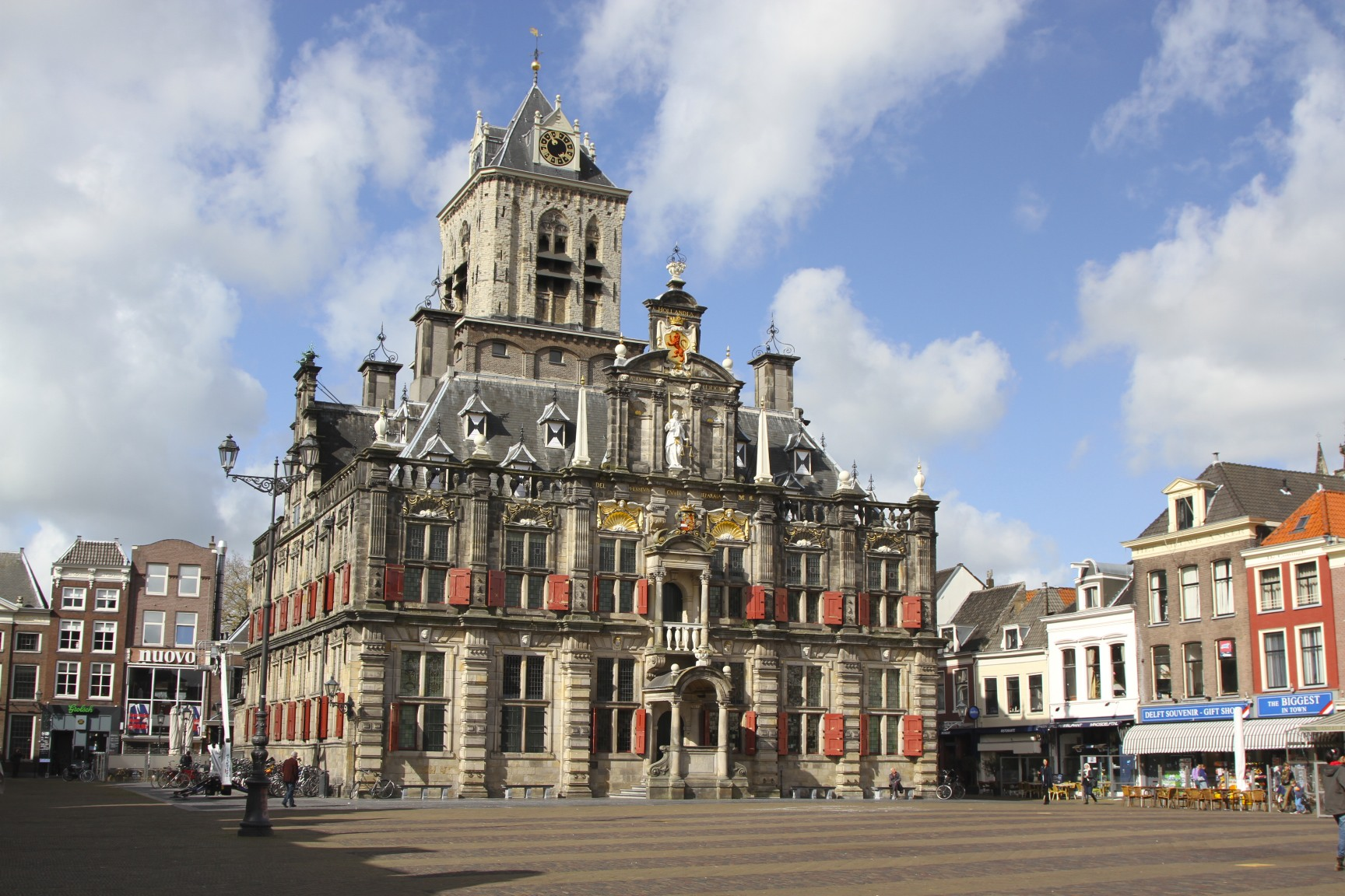 Delft City Hall in Netherlands